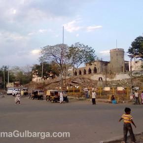 Super Market Area Finally Demolished, Gulbarga
