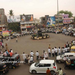 Gulbarga Says we are with you anna