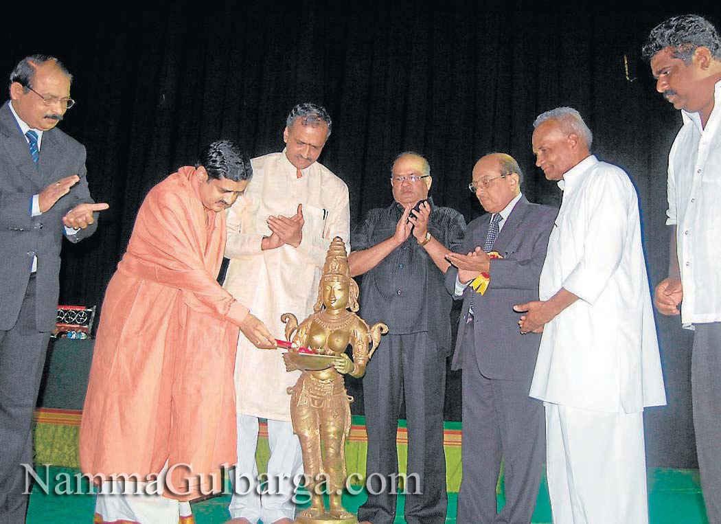 Shree Guru college Gulbarga  A Y Naik