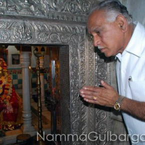 Yeddyurappa visited Gulbarga over 40 times as Chief Minister
