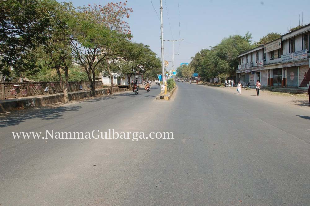 Gulbarga Bundh roads