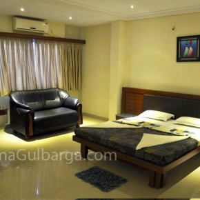 "Gulbarga's new luxury hotel ""Mathura Inn"""