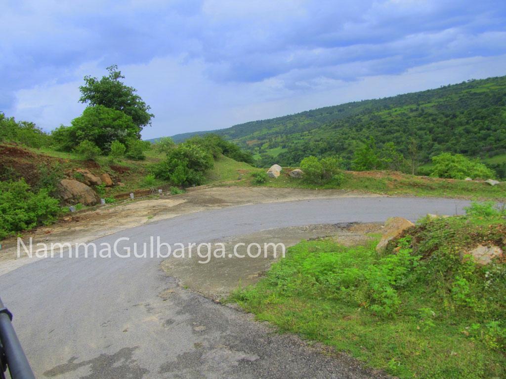 Gurmitkal Road towards falls