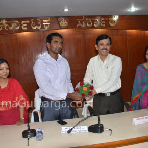 K. G. Jagadeesh, IAS has taken charge of Deputy Commissioner of Gulbarga District