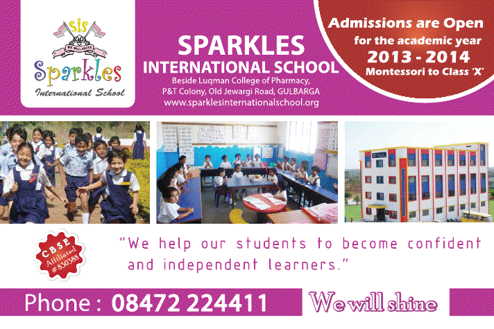 Sparkles school, Gulbarga