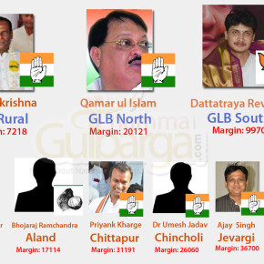 Gulbarga District Assembly Election Results 2013