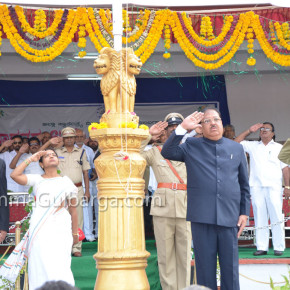 67th Independence Day celebrated in Gulbarga