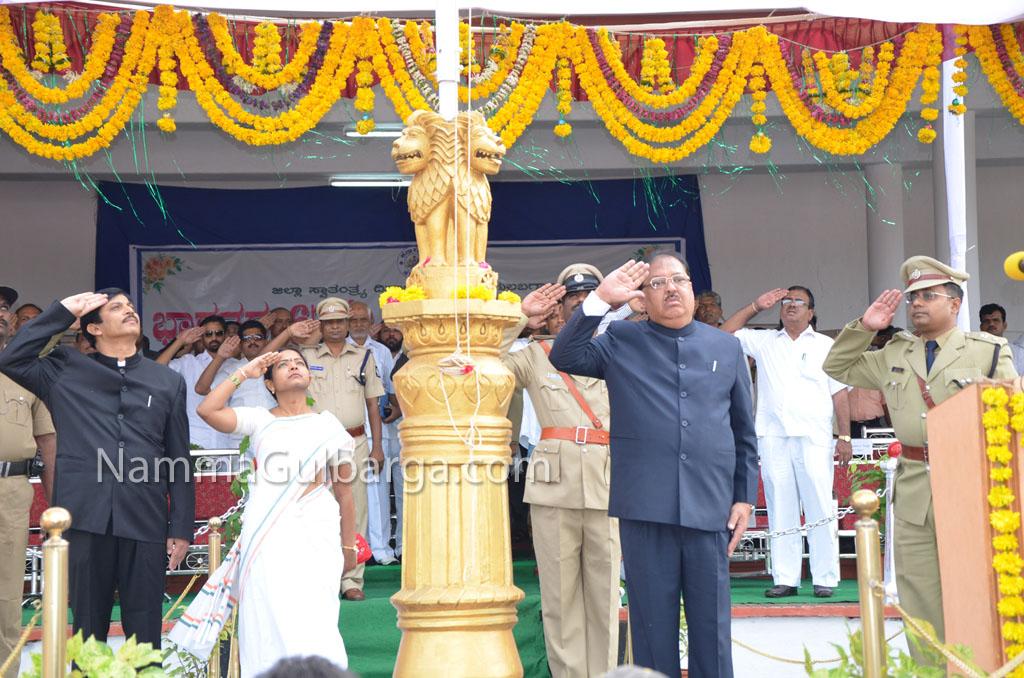 Gulbarga Independance day celebration