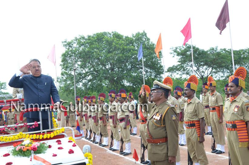 Gulbarga Independance day