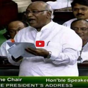 Naraz kyun ho raha hai bhai - Shri Mallikarjun Kharge's speech in Lok Sabha