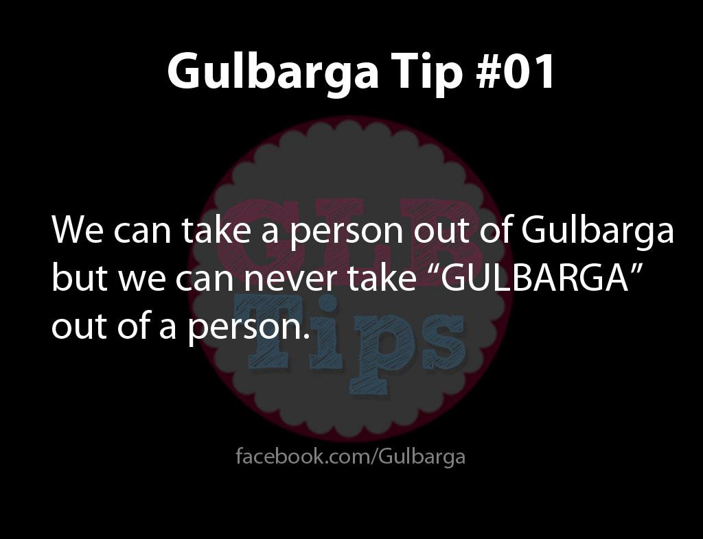 Gulbarga Tips #1
