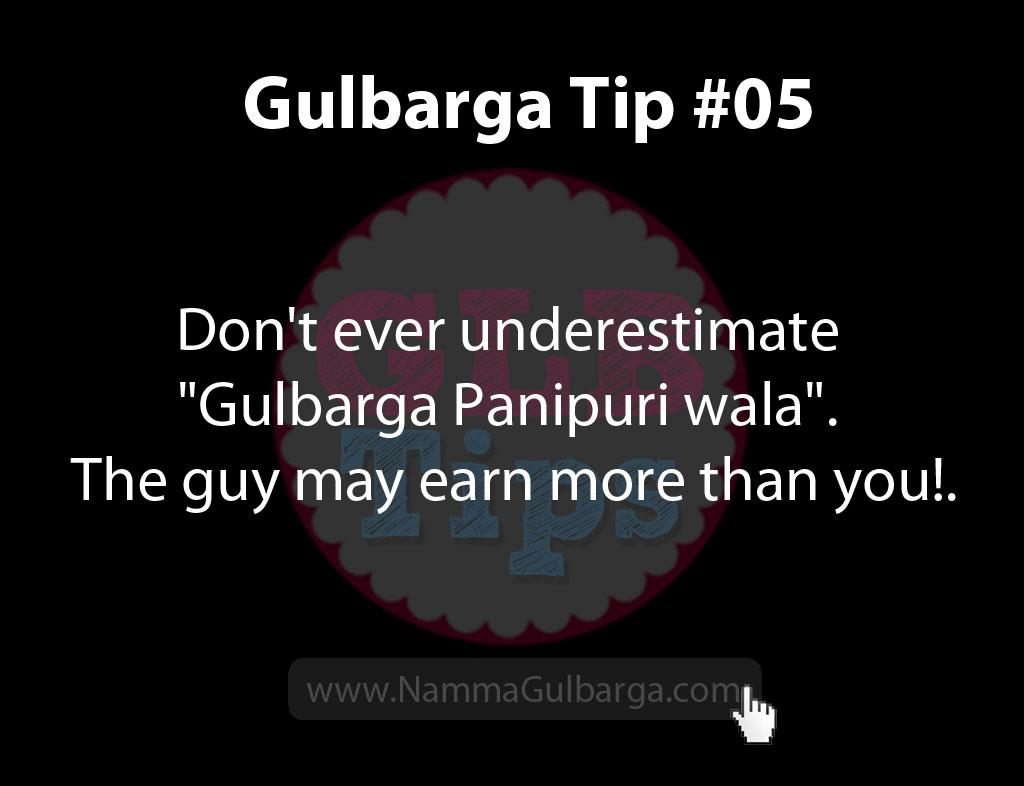 Gulbarga Tips #5