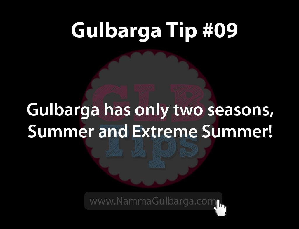 Gulbarga Tips #9